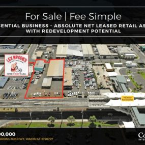 Lex Brodie's Absolute Net Leased Retail Asset
